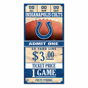Indianapolis-Colts-Old-Game-Ticket-Wooden-Sign-30-cm-NFL-Football-Wood-Sign