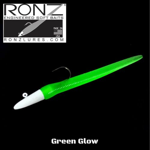 "RonZ PERFORMANCE SOFT BAITS ORIGINAL SERIES 4/"" 1//4oz 3x414L"