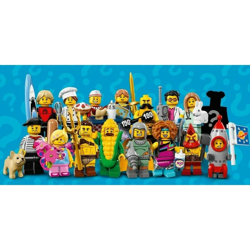 LEGO Series 17 Minifigures Choose Your Figure Brand New Complete Sets 71018