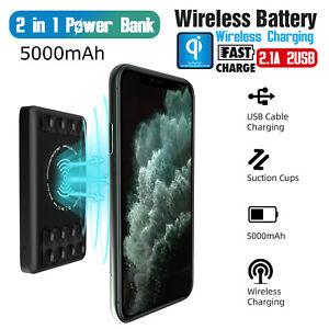 5000mAh-Portable-Power-Bank-Battery-Qi-Wireless-Charging-Dual-USB-Type-C-Fast