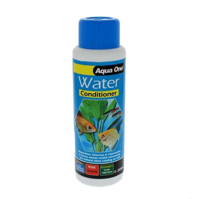 Treatment Water Conditioner Basic 200ml  11632 Fish Tank Aquarium Aqua One