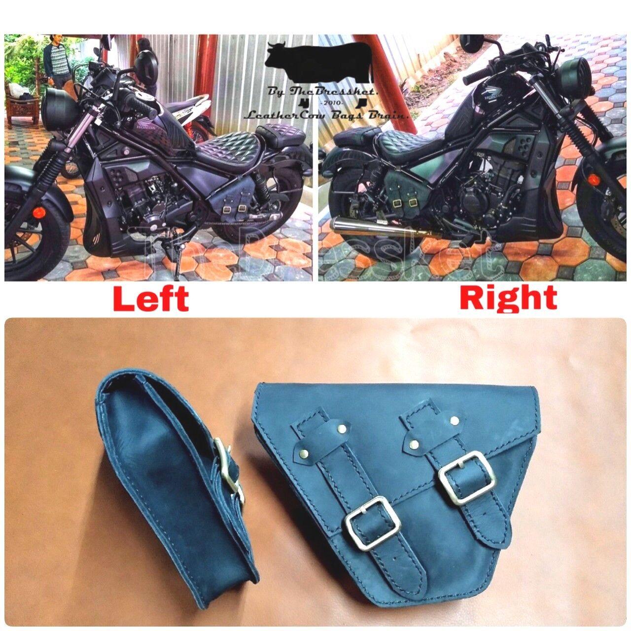 SaddleBags Genuine Western Horse Motorcycle Tool Insulated Tough For Honda Rebel