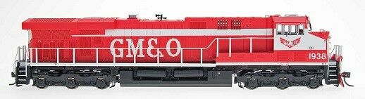 InterMountain InterMountain InterMountain Diesel GE ES44AC Standard DC GM&O HO MIB 8bbf22