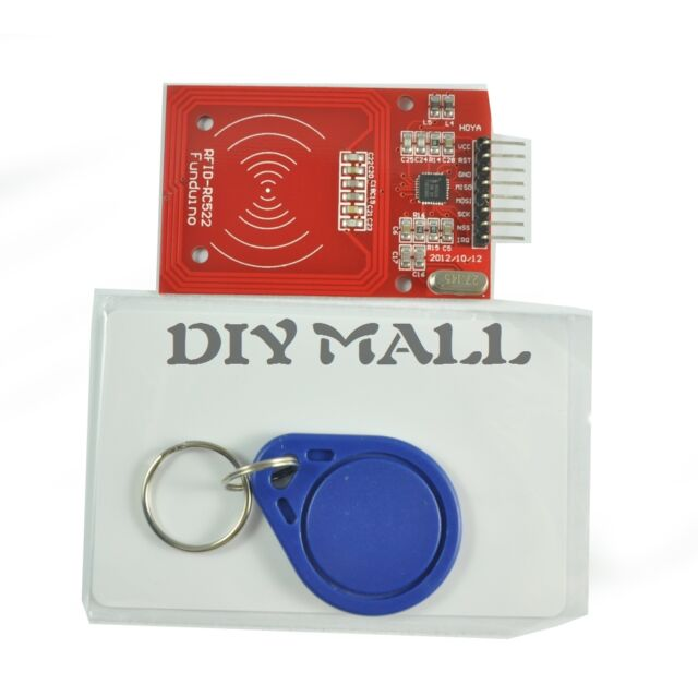 RC522 RFID Module with  IC Card  S50 Fudan Cards Key Chains for Arduino