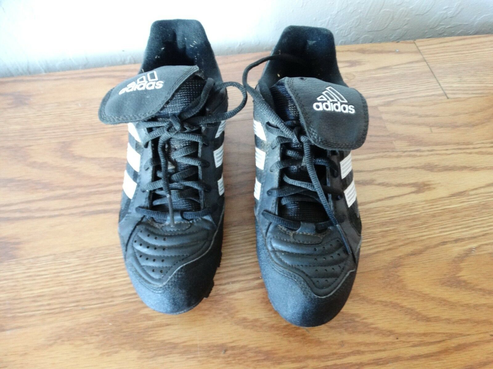 NWT Adidas Men's Excelsior Black Trainer Baseball Athletic Shoes Cleats Black Excelsior 7.5 eae16f