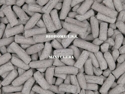 1 POUND BIOHOME MINI ULTRA FILTER MEDIA ~ MEDIUM GREY ~ US SELLER!