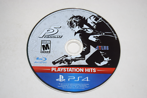 Persona 5 Hits Sony Playstation 4 PS4 Video Game Disc Only