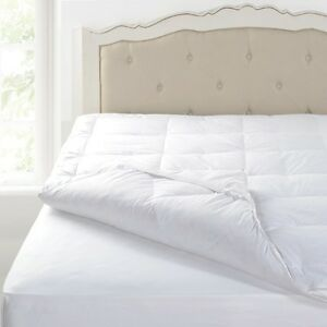 King Bed Size Duck Feather And Down Mattress Topper Ebay