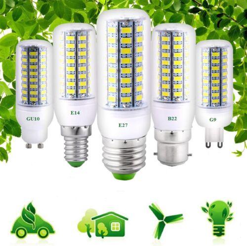 Ultra Bright E27 E14 B22 G10 G9 5730 SMD 7~25W 110//220V LED Corn Bulb Lamp Light