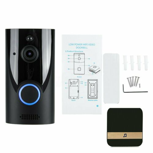 Smart Doorbell Camera Wifi Wireless Call Intercom Video-Eye Door Bell Home Secur