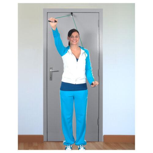 Handgriffe und Befestigung Shoulder Rope Pulley-Set Fitness Seil Gymnastik inkl