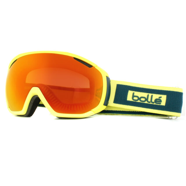 Bolle Ski Goggles Tsar 21443 Matt Yellow Teal Sunrise