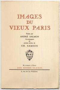 Images-du-vieux-Paris-de-Salmon-pointes-seches-de-Samson-1951-numerote