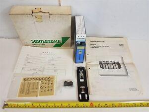 Yamatake-IP301-Signal-Converter-Intellpak-IP301-FCCA0000-1000-5000mV-4-20mA-New