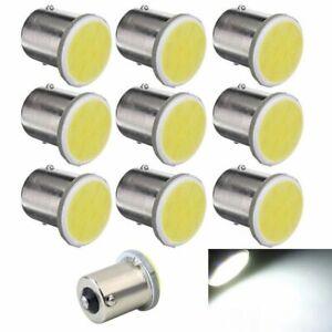 10Pcs-Blanc-1156-Ba15S-P21W-Lampe-1156-LED-Voiture-Led-Cob-12-SMD-12V-Tension-9T