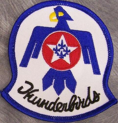Embroidered Military Patch USAF Air Force Thunderbirds Demonstration Squadron