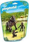 PLAYMOBIL 6639 City Life Zoo Gorilla With Babies