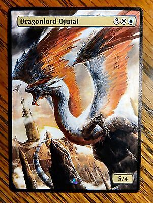 Magic the Gathering MTG altered art Dragonlord Ojutai