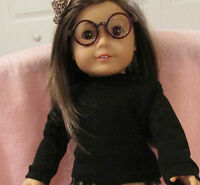 Doll Clothes Girl Dol Black Knit Top Fits 18 Inch Doll American Seller Lsful