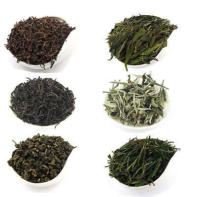 6 Basic China Tea Types White Tea Green Tea Oolong Tea Puer Tea