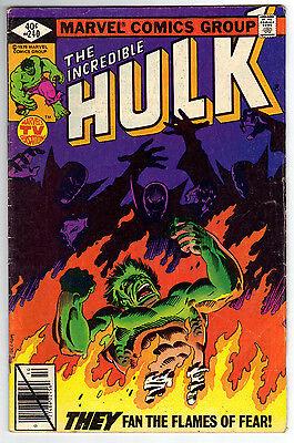 Incredible Hulk 240 VG- condition