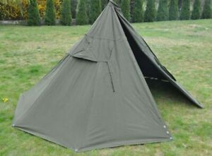 huge discount 91475 d4251 Details about Set 2 Military Polish Army Poncho or 1 Tent. BIGGEST SIZE  3.New. Lavvu.Canvas