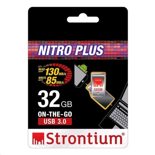 Strontium NITRO PLUS SERIES OTG USB 3.0 16GB 32GB 64GB 128GB for Android Phone