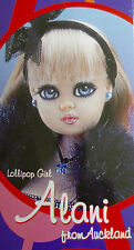* WOW! JAN MCLEAN LOLLIPOP GIRLS DOLL * ALANI FROM AUCKLAND * NEW IN BOX *