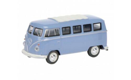 20105 Schuco VW t1 Bus-BLU #452010500 - 1:64