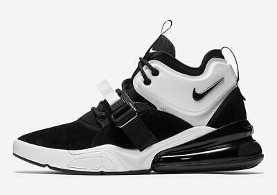 big sale 63a31 75756 Nike Air Force 270 Black White Oreo size 12. AH6772-006 max vapormax 1 90  97 | eBay