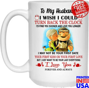 Up To My Husband  I Love You Forever Coffee Mug Valentine's Day Gift, Christm...