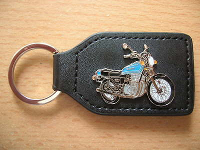 Gs750 Blau Blue Modell 1977 Motorrad Art Schlüsselanhänger Suzuki Gs 750 0605 Terrific Value