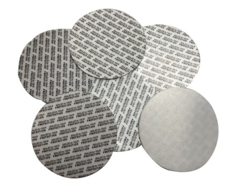 33mm Pressure Sensitive Foam Tamper Sealed For Your Protection New Cap Liners