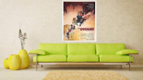 The Goonies 1985 Retro Movie Poster A0-A1-A2-A3-A4-A5-A6-MAXI 237