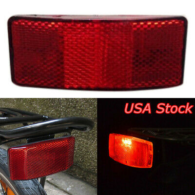 DZ837* Bicycle Bike MTB Safety Caution Warning Reflector Disc Rear Pannier Racks