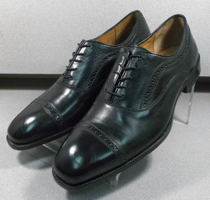 592195 FT50 Chaussures Hommes Taille 10 m Noir en Cuir à Lacets Johnston Murphy