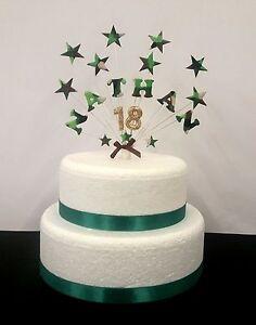 Wondrous Army Xbox Stars Birthday Celebration Cake Topper Decoration Funny Birthday Cards Online Alyptdamsfinfo