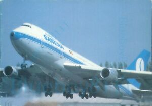 Sabena Belgian Airlines Boeing 747 Dantinne unposted