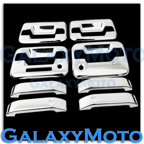 04-13 Ford F150 Triple Chrome Plated 4 Door Handle+keypad+with PSG keyhole Cover