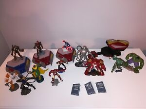 Hasbro Playmation Marvel Lot - Hulk, Hulk Buster, Ultron, Captain America, Visio