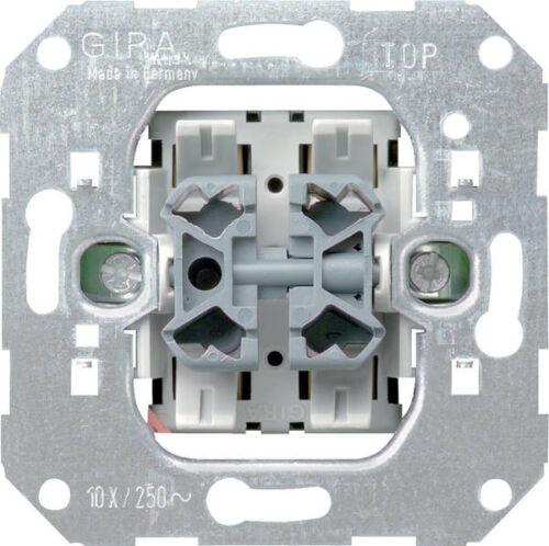 Gira 015500 Einsatz Wipptaster 10 A 250 V~ Wechseltaster 2fach