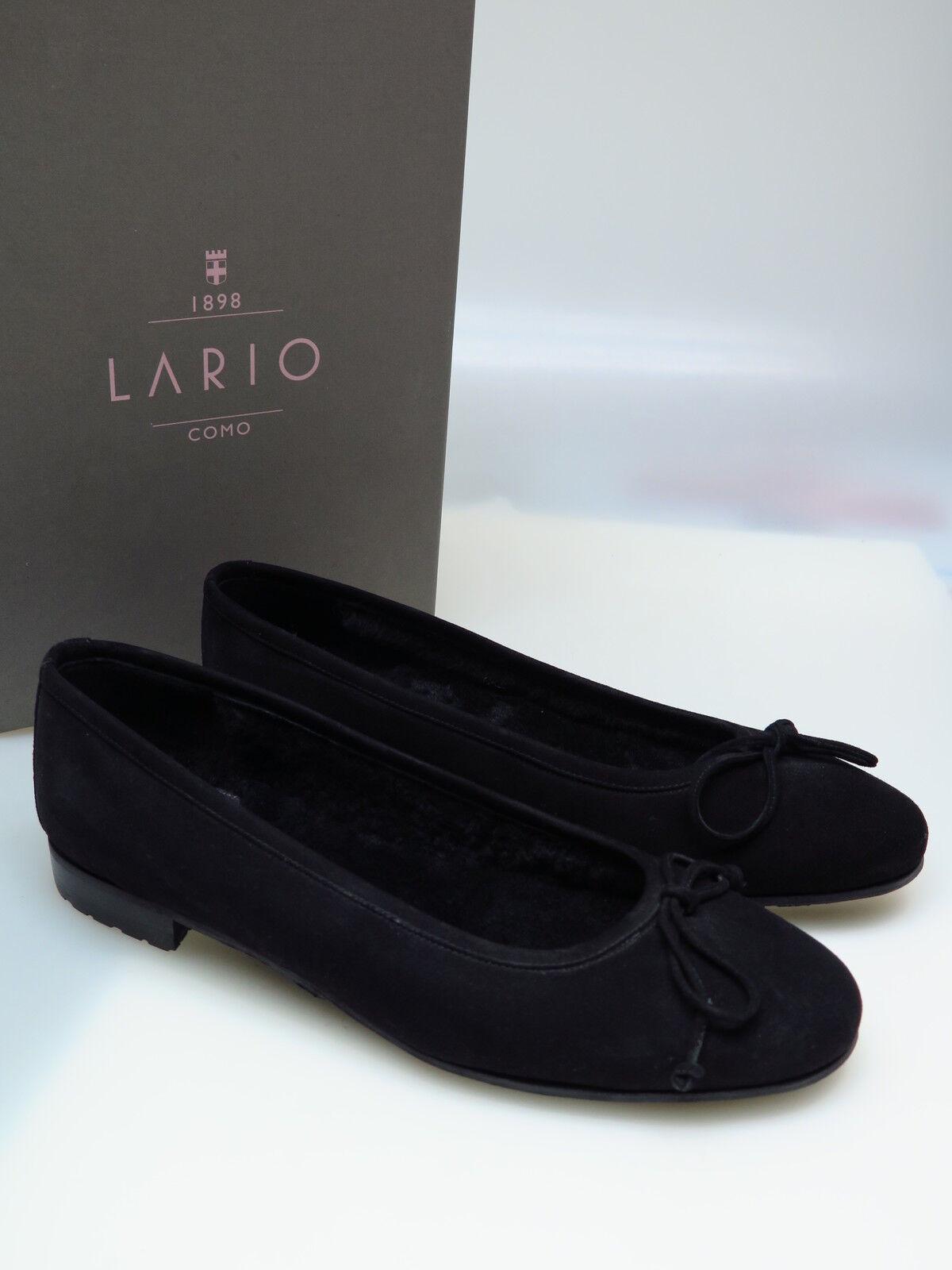 LARIO COMO 1898 Designer Damenschuhe LA C3410 37,5 Lara Fell Schwarz Gr. 37,5 C3410 NEU 6f9cd5