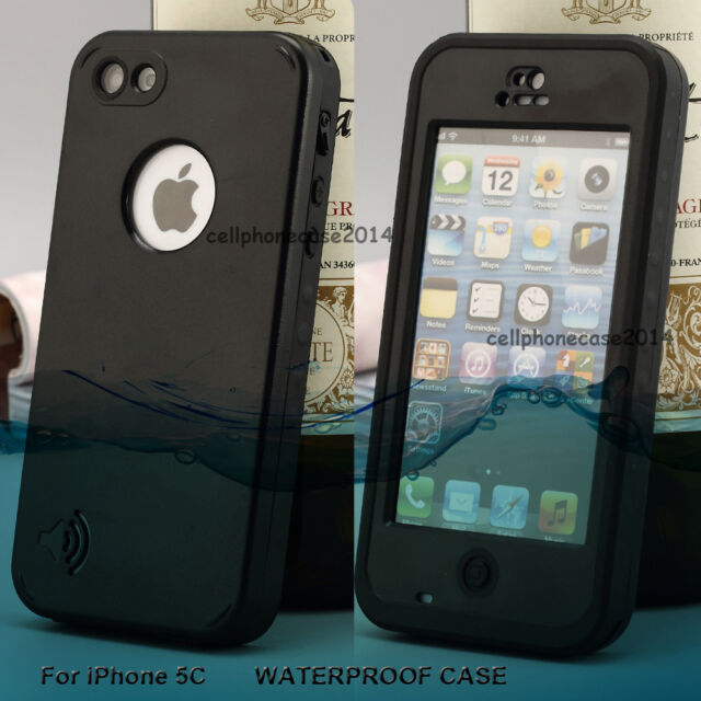 For iPhone 5C Redpepper Waterproof Shockproof Dirt Snow Proof Durable Case Cover