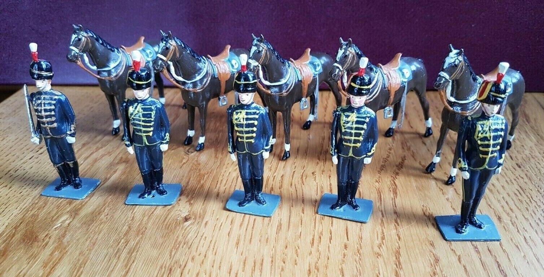 Britains Britains Britains Italian Cavalry Hussars dismounted 76d