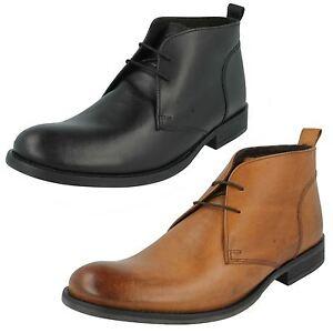 Mens Base London Formal Ankle Boots Teak Mto Hohe Sicherheit Herrenschuhe Stiefel