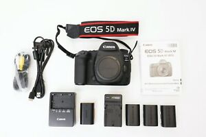 Canon EOS 5D Mark IV 30.4MP Digital SLR Camera Body