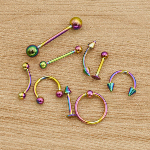 1 Set Fashion Body Piercing Barbell Norse Eyebrow Jewellery Decoration Gift