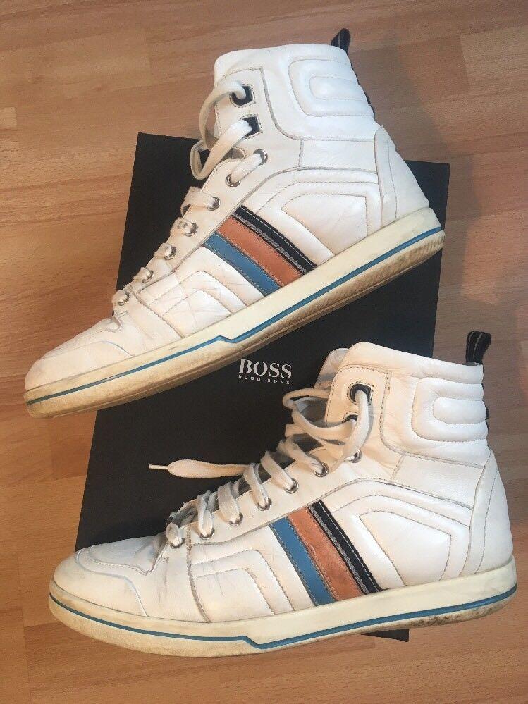 Hugo Boss Sneaker Hightop SCOTTIS  44 Uk 10 Us 11 *TOP Zustand* Ovp