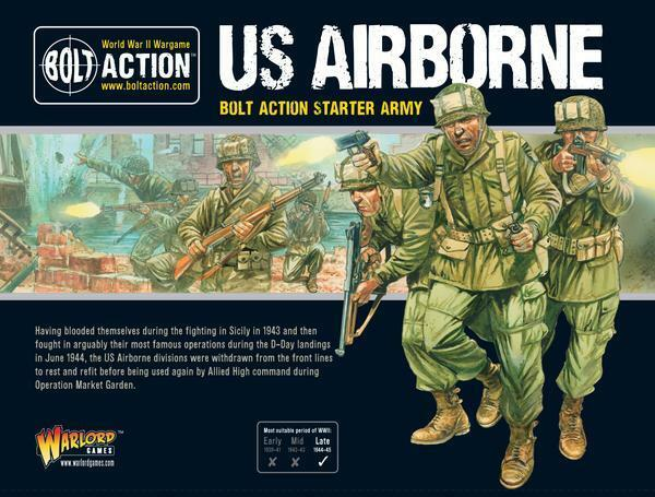US US US Airborne Starter Army Box-Warlord Games-Bolt Action-WWII-Pre Order d81c76