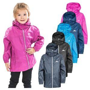 Trespass Kids Boys Girls Packaway Packa Waterproof Jacket